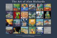 'Gallery' page on Alan Richard's website
