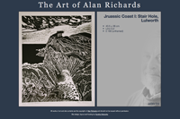 'Artwork' page on Alan Richard's website